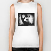 erotic Biker Tanks featuring An Erotic Photographer by Alex Coghe