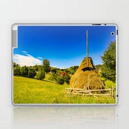 Haystack in the Carpathians of Romania Laptop & iPad Skin