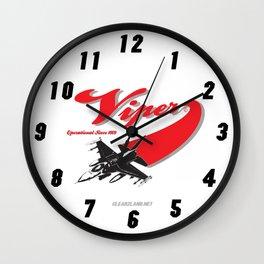 F-16 SWOOP Wall Clock