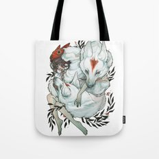 Wolf Child Tote Bag