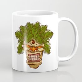 illustration of a tiki totem. Coffee Mug
