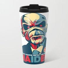 Iron Maiden Metal Travel Mug