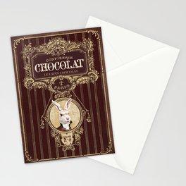 Chocolate rabbit Stationery Cards