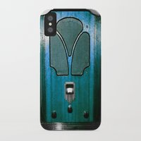 radio iPhone & iPod Cases featuring Vintage Radio by 2sweet4words Designs