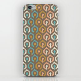 Honeycomb IKAT - Cocoa iPhone Skin