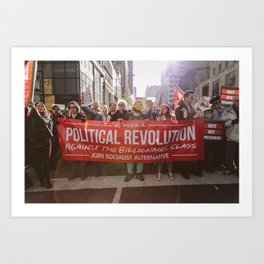 A Political Revolution Art Print