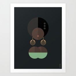 BLACK MAGIC WOMEN / Adanna Art Print