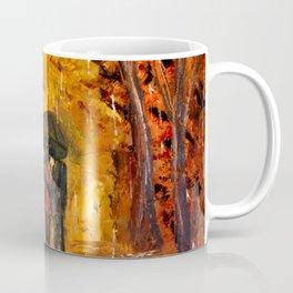 Les amoureux sous la pluie Coffee Mug