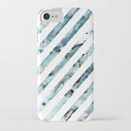 Sea Stripes iPhone Case