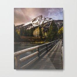 Jenny Lake, Grand Teton NP Metal Print