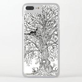 Koko's tree Clear iPhone Case