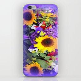 Flower Market iPhone Skin