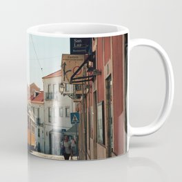 Lisbon yellow tram, Portugal Analog 6x6 Kodal Ektar 100 (RR 167) Coffee Mug