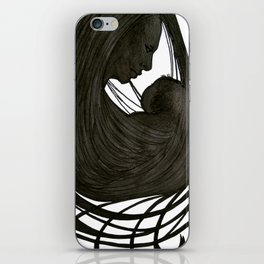 Mother and Child iPhone Skin