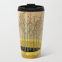 - the swing in the soup - Travel Mug