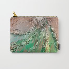 Twisted Cactus Carry-All Pouch