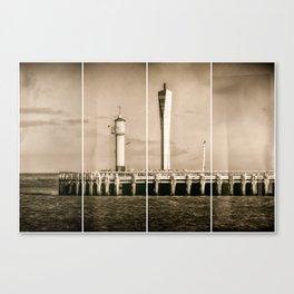 4 Quarters of the Pier Canvas Print