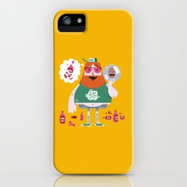 Hick Bowler iPhone Case