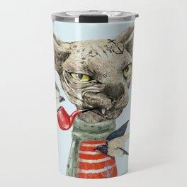 Sphynx cat Travel Mug