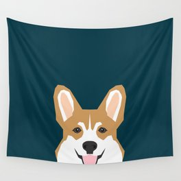 Teagan - Corgi Welsh Corgi gift phone case design for pet lovers and dog people Wall Tapestry