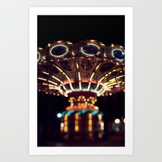 The Rides, The Swings Art Print