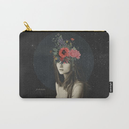 mujer florero Carry-All Pouch