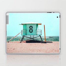 California Lifeguard Tower Laptop & iPad Skin