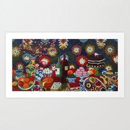 Tablescape Art Print