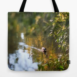 Duck pond Tote Bag