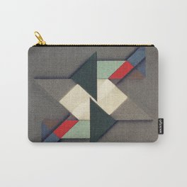 La Réunion Geometrique Carry-All Pouch