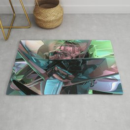 Colorful 3D Reflections Rug