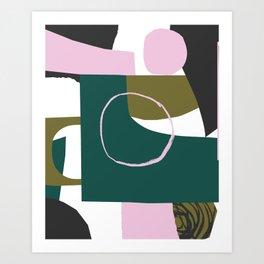 Abstract Damage Art Print