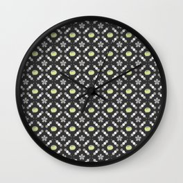 Hanami Nummies | Black Matcha Wall Clock