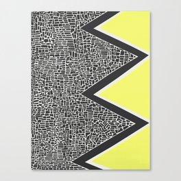 Abstract Mountain Range Canvas Print
