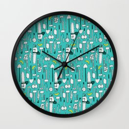 weapons Wall Clock