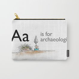 A is for Archaeology Carry-All Pouch