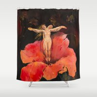 renaissance Shower Curtains featuring Renaissance by Andrey Esionov