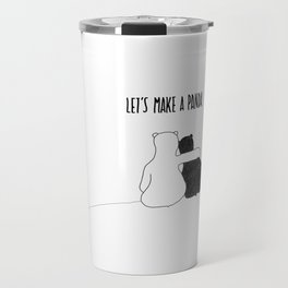 Let's Make a Panda Travel Mug
