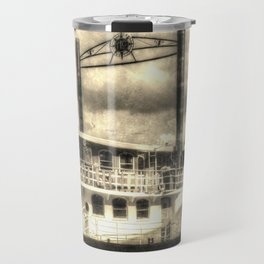 The Elizabethan Paddle Steamer Vintage Travel Mug