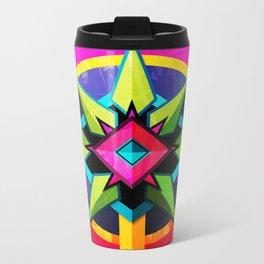 Mandala 2 Metal Travel Mug