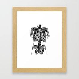 Bones. Framed Art Print