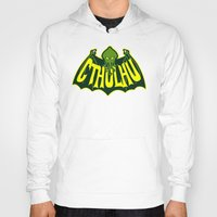 cthulhu Hoodies featuring Cthulhu by Buby87