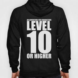 d20 Level 10 Adventure Hoody