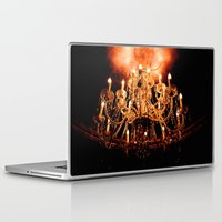 chandelier Laptop & iPad Skins featuring Chandelier by Jessica Lindstrom