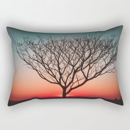 Beautiful Sunset Tree of Life  Rectangular Pillow