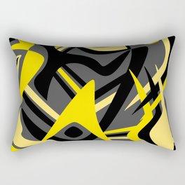Yellow Puff Rectangular Pillow