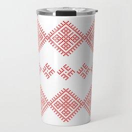 Pattern - Family Unit - Slavic symbol Travel Mug