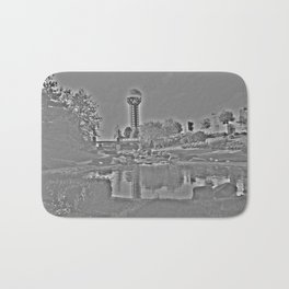 Sunsphere Shades of Gray Bath Mat