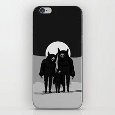 NEVER ALONE iPhone & iPod Skin