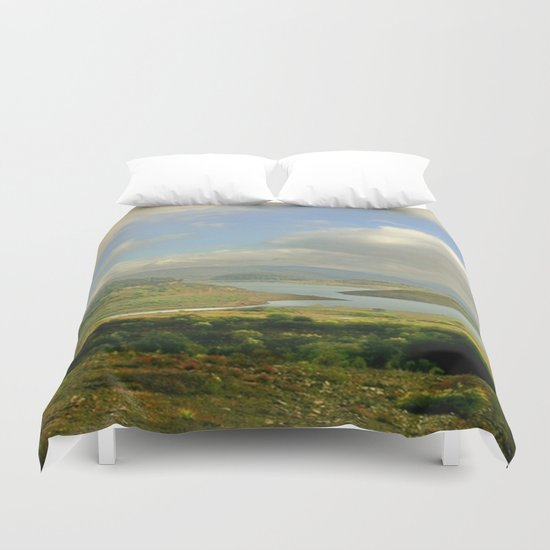 Alpine Ranges Duvet Cover